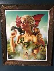 MOTHER OF DRAGONS by JASON EDMISTON Mondo Artist Proof 16