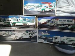 Hess Toy Truck Lot 1994, 1995 1997 1999 And 2006