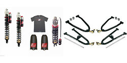 Lonestar Racing + Elka Stage 4/3 Front And Rear Suspension W/ A-arms Raptor 700