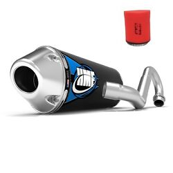 Hmf Competition Comp Full System Elliptical Exhaust + Uni Air Filter Yfz 450r-x
