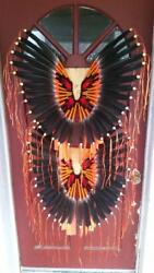 Native American Style Contemporary Fancy Bustle Set Teen Regalia Pow-wow