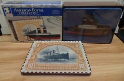 St Paul Ocean Liner Us Postal Collection Schylling Tin Toy And Case 110618dbt3