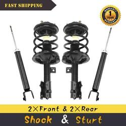 2002 2003 2004 2005 2006 For Nissan Altima 3.5l Front Quick Struts Rear Shocks