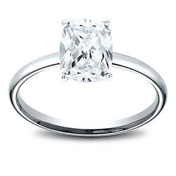 14k Gold 1.41 Ct Cushion Cut Gia Diamond Solitaire Engagement Ring J I1
