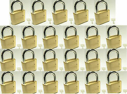 Master Lock Solid Brass 175 Lot 23 Set To Your Own Combination Padlock