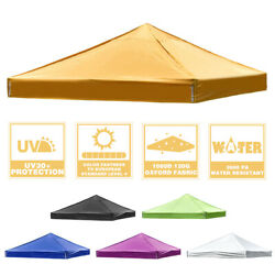 10x10ft Pop Up Canopy Top Replacement Gazebo Patio Sunshade Tent Oxford Cover