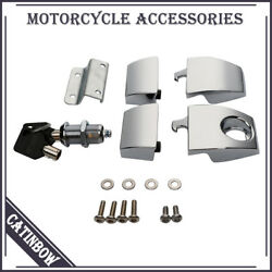 Premium Hardware Latches Hinges Lock Set kit for Harley Davidson Tour Pak 06-13