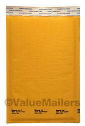 1 7.25 X12 Kraft Bubble Lite Mailers Dvd Padded Envelopes Bags 25, 100 To 2000