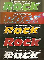 The History Of Rock Multiple Magazines To Choose From Select / Pick Issue