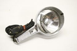 Vintage 1950and039s 1960and039s Interior Hand Held Spotlight Trouble Light Accessory 12v