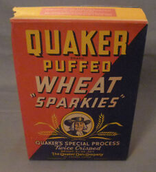 1940's Corn Flakes Cereal Advertising Liberator Plane Canadian Full Sealed Box