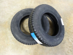 TWO New 145R12 Carlisle Radial Trail RH Trailer Tires 10 Ply Rated Load Range E