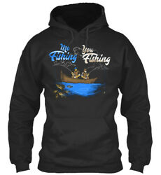 You Me Fishing A Must Have - Fishing Standard College Hoodie