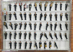 Preiser Ho 13256 Air Force Military Band, German Armed Forces, Frg, 61 Figures