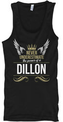 Dillon Never Underestimate Heather - The Power Of A Dillion Male Tank Top