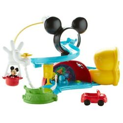 Disney Mickey Mouse Zip, Slide And Zoom Clubhouse