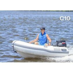 10' Caribe Inflatable Model:C10- Dinghy Boat Fishing Tender Rafting Water Sports
