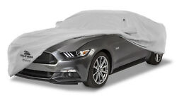 1969-1970 Ford Mustang Fastback Custom Fit Gray Cotton Plushweave Car Cover