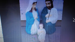 Local Pickup Only Christmas Blow Blow Nativity Scene Life Size Giant 13 Pieces