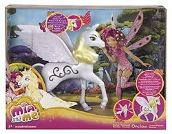 Mia And Me - Unicorn Onchao Music And Light - Out Of Print - 11 Inch Mattel Doll -