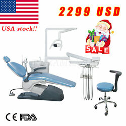 Dental Unit Chair Thermostatic Water Supply Computer Controlled W Doctor stools