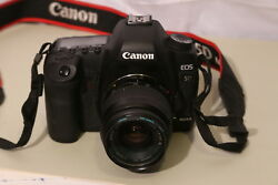 Canon 5d Mark Ii Camera 18-55 Lens, Battery And Charger, Nice