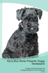 Kerry Blue Terrier Presents by Doggy Puzzles (English) Paperback Book Free Shipp