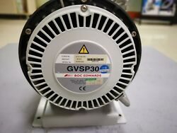 Edwards Dry Scroll Vacuum Pump Gvsp30 Tested Working