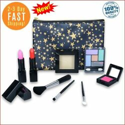 Washable Kids Makeup Set for Girls and Teens with Glitter Cosmetics Bag HOT