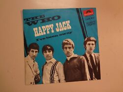 Who Happy Jack 206- I've Been Away-italy 7 67 Polydor 59 056 Psl W/group Shot