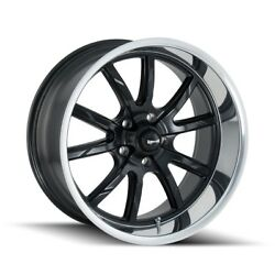 Cpp Ridler 650 Wheels 17x8 + 20x10 Fits Ford Mustang Falcon Galaxie