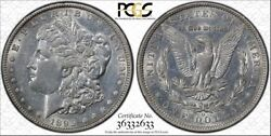 1895-o 1 Morgan Silver Dollar Pcgs About Uncirculated Au Details Secure Holder