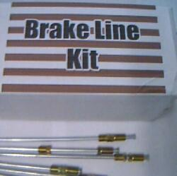 All Metal Brake Lines Packard Studebaker 1941 Thru 1964 -replace Corroded Lines