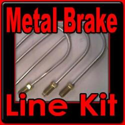 Complete Metal Brake Line Kit Toyota 1996-1970 20 Piece -replace Corroded Lines