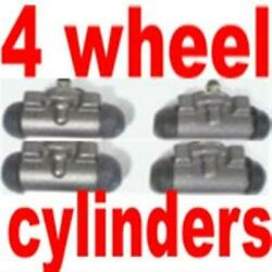 4 Wheel Cylinders Ford Truck 1948 To 1954 1/2 Ton For Your Next Brake Job