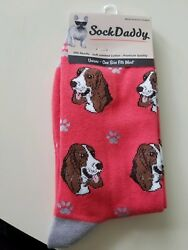 Sock Daddy BASSET HOUND Dog Unisex SOCKS Brand NEW w TAG Fast FREE SHIPPING