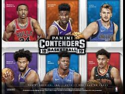 2018-19 Panini Contenders Nba Inserts Retail And Hobby Pick From List