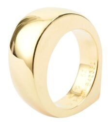 Piaget Ring 52 Womenand039s Yellow Gold 750 Yellow Gold 1.7 Cm X 0.7 Cm