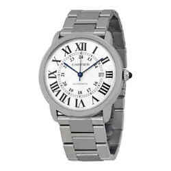 Cartier Ronde Solo Automatic Men's Watch W6701011