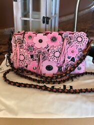 NWT Coach 1941 Dinky Tea Rose Crossbody Leather Bag 86845 BPPetal New PINK!!!