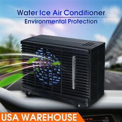 12V Portable Universal Car Cooler Fan Water Ice Evaporative Air Conditioner