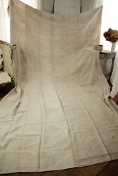 Antique Cart Cover Heavy Linen Sofa Cover Or Slip Cover Huge 160 X 96 18 Lbs