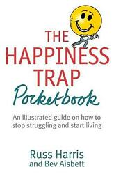 Happiness Trap Pocketbook by R Harris Paperback Book Free Shipping!