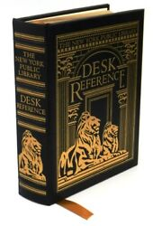 The New York Public Library Desk Reference (2005 Easton Press)