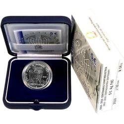 Italy Coin 2010 St 100 Years Confindustria Case Certificate Silver