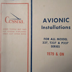Factory Avionics Wiring Book 1979 And 1980 Cessna 337 T337 And P337