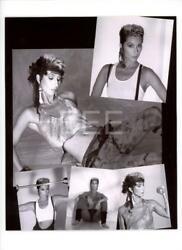 CHER Contact Sheet by Photographer Harry Langdon with Embossed Stamp Photo 143L