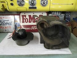 1956 Ford AC Blower Motor & Evaporator Assy Complete (motor tested ok)