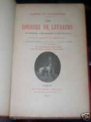 VERY RARE GREYHOUND FOX TERRIER COURSING DOG BOOK 1899