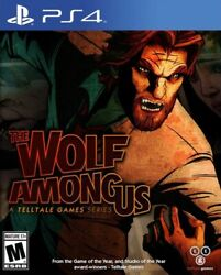 The Wolf Among Us [sony Playstation Ps4 Telltale Games Werewolf Adventure] New